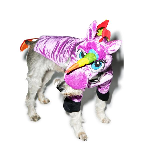 Seeing Is Believing Unicorn Dog Costume