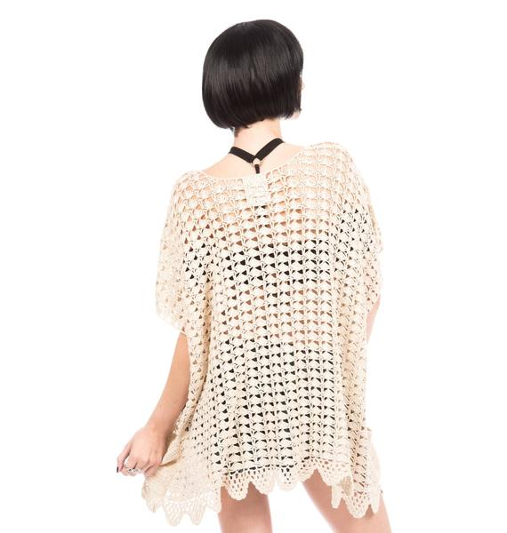 One Teaspoon Canyon Crochet Poncho