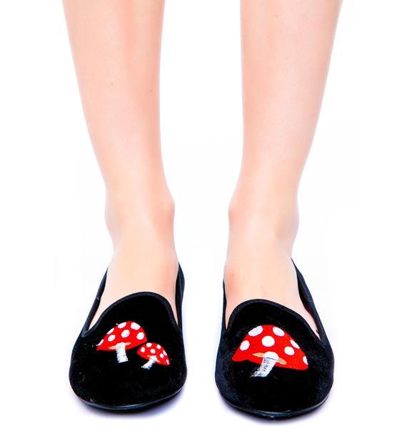 Y.R.U. Lavish Trippy Mushroom Flats