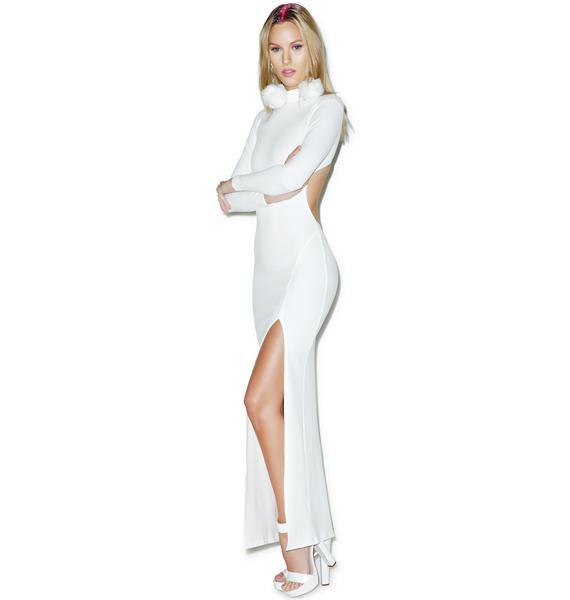 White Hot Maxi Dress