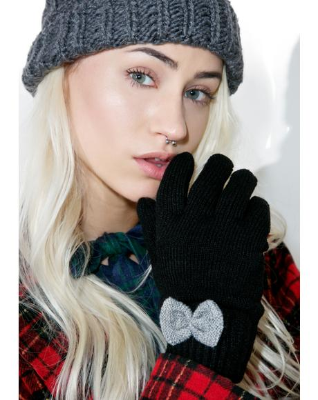 First Love Bow Gloves
