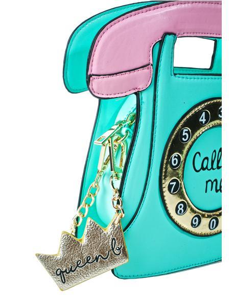 Queen B Plushie Key Charm
