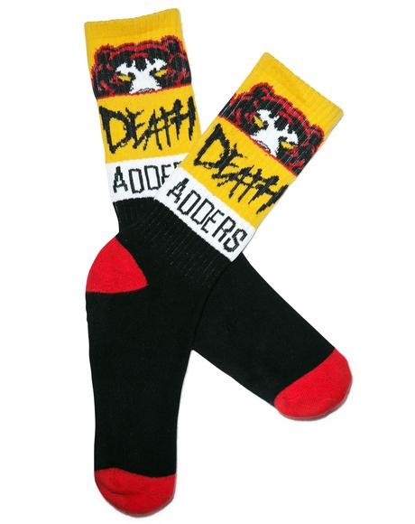 Death Adder Nation Socks