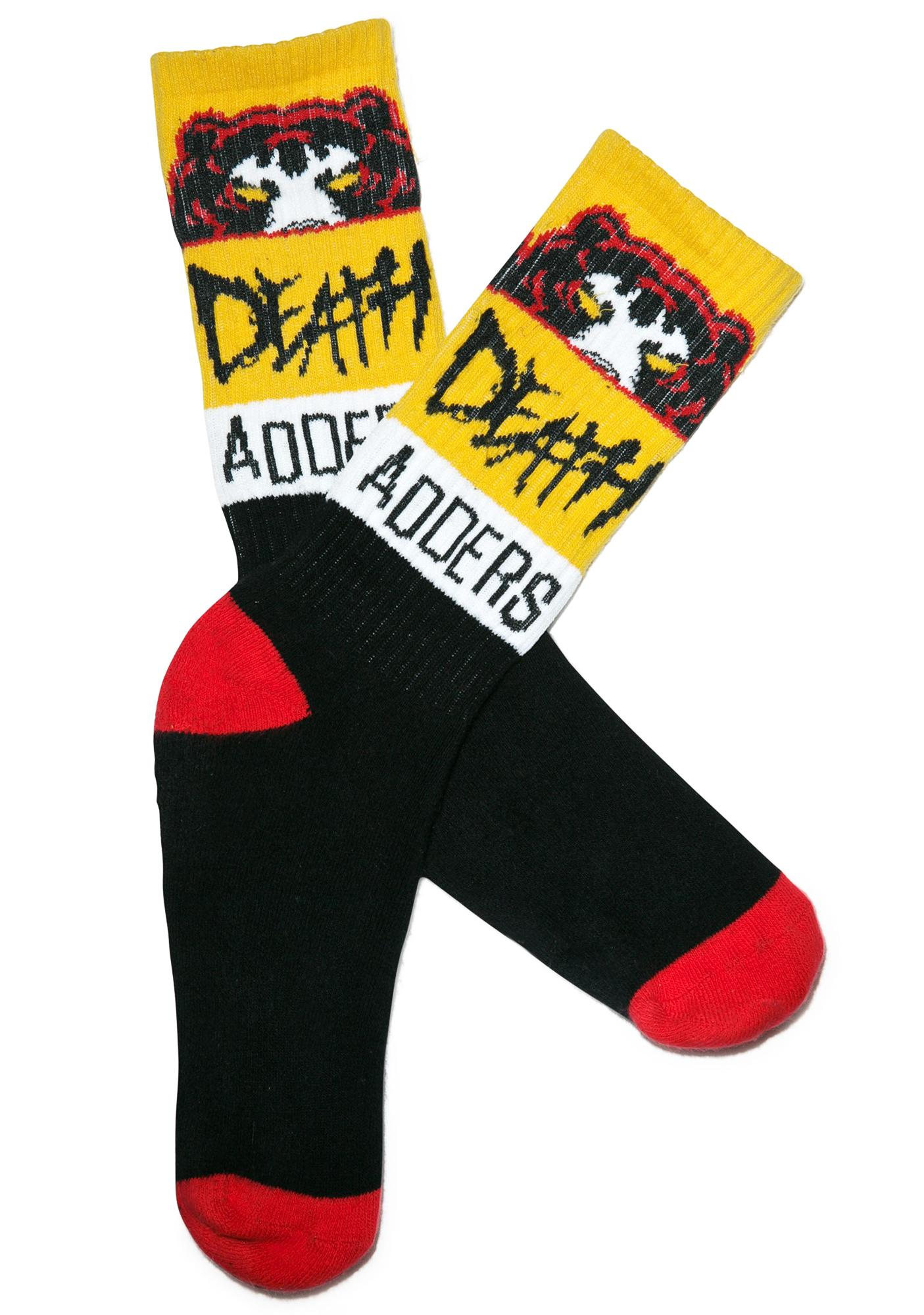 Mishka Death Adder Nation Socks