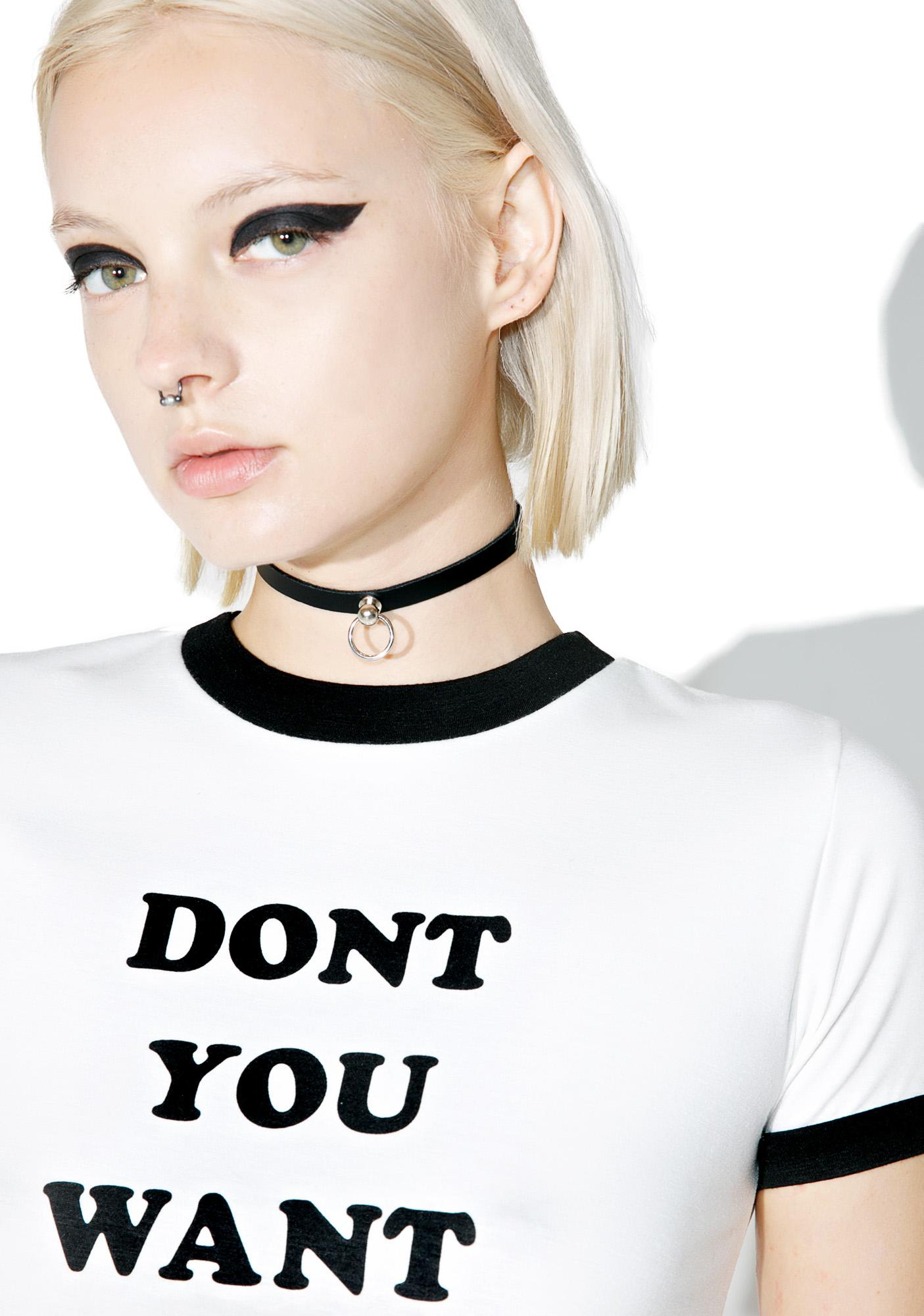 Club Exx The Minimalist Choker