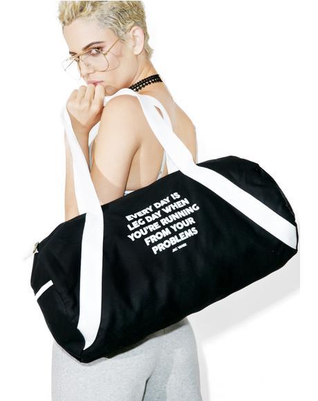 Leg Day Duffel Bag