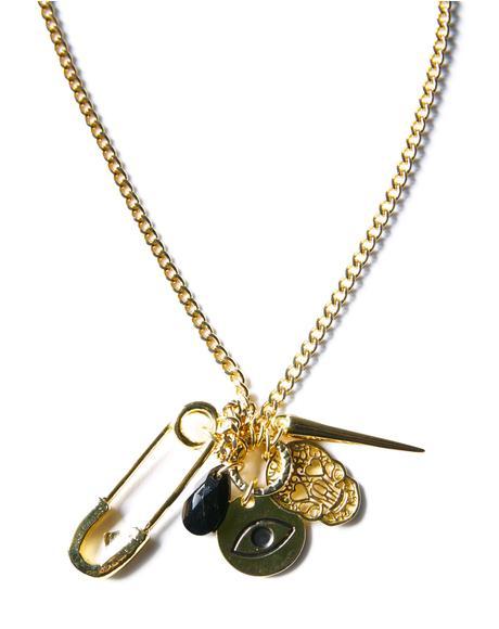 Dreams of Destiny Rocker Chain Necklace