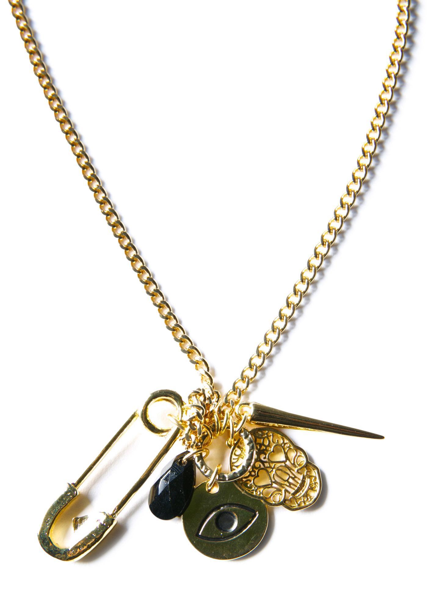 Ettika Dreams of Destiny Rocker Chain Necklace