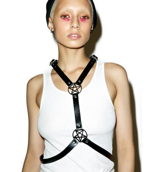Killstar Alexis Pentagram Harness