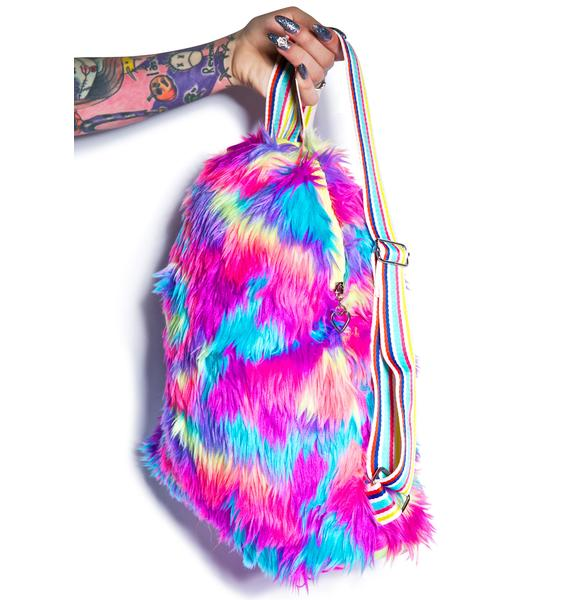 Big Ol' Furry Backpack