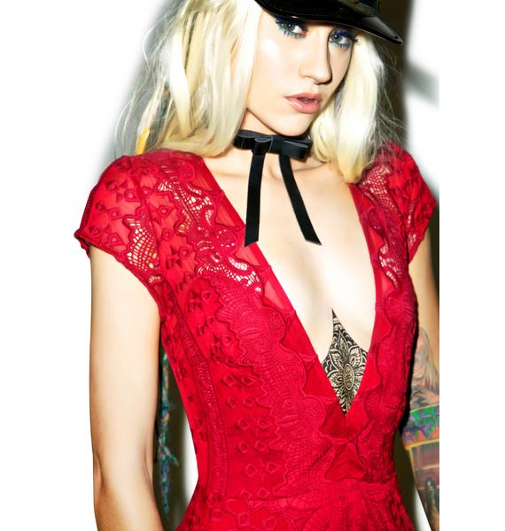 For Love & Lemons Sienna Mini Dress