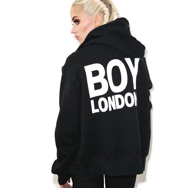 BOY London BOY London Eagle Zip Hoodie
