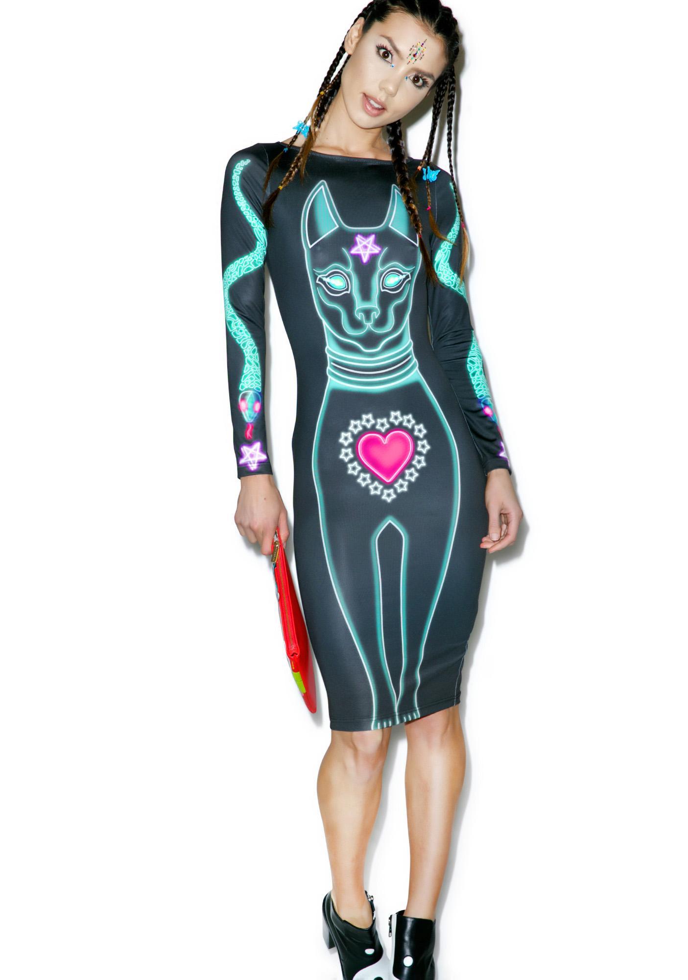 Nympha Feline Fatale Dress