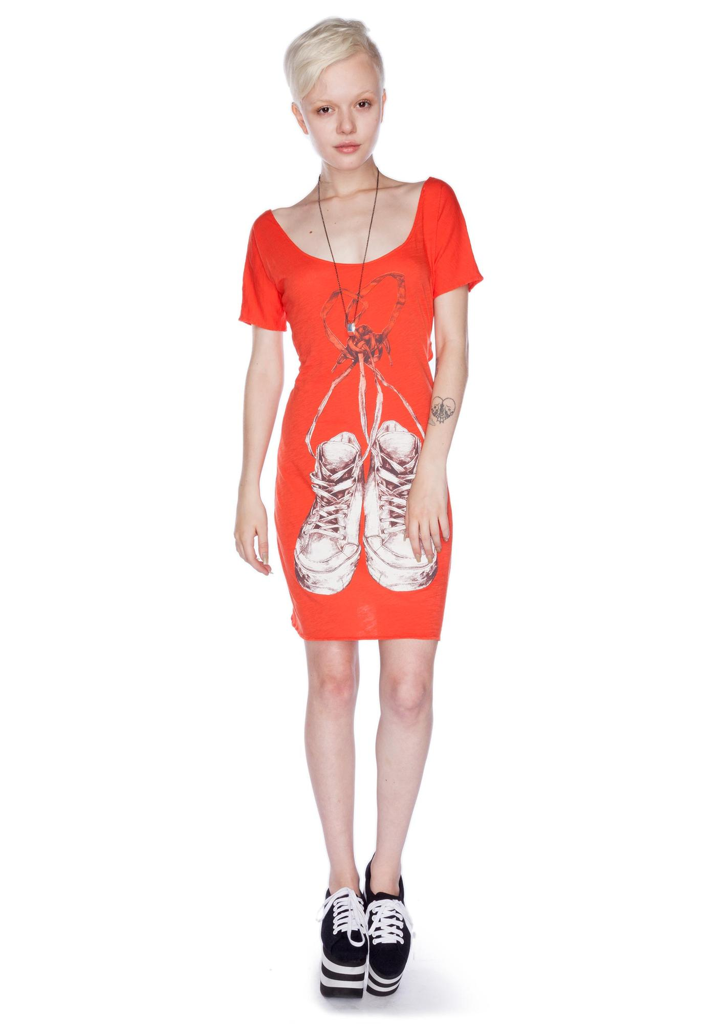 Laced Heart Dress