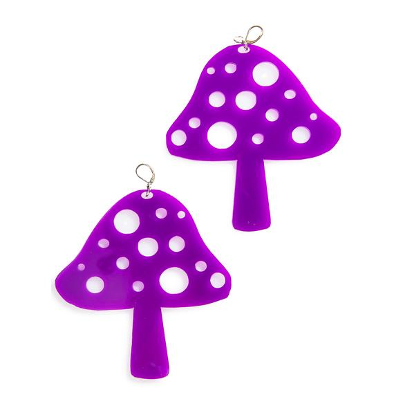 Marina Fini Mushroom Earrings