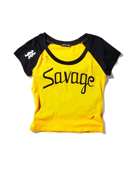 Savage Cropped Raglan