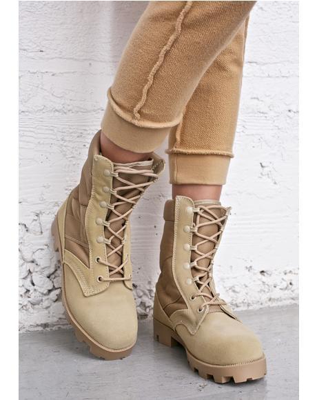 Deserted Boot