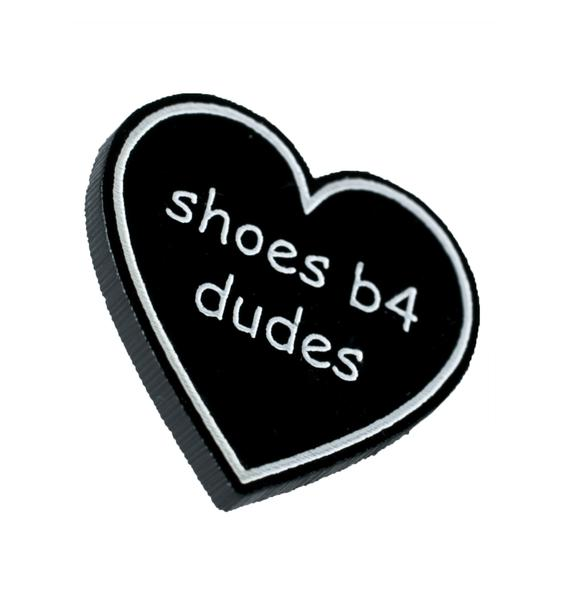 Witch Worldwide Shoes B4 Dudes Pin