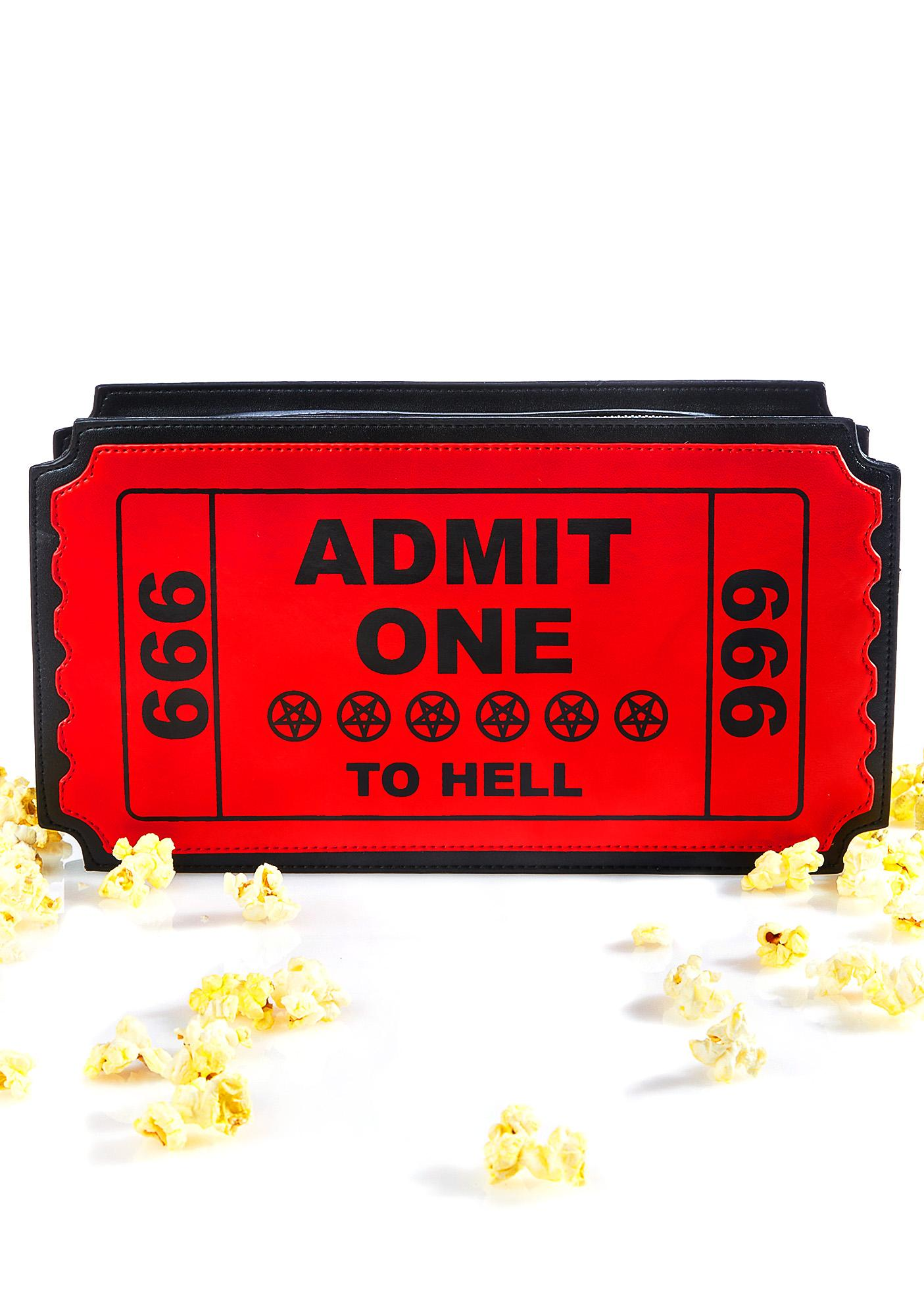 Current Mood Ticket To Hell Bag