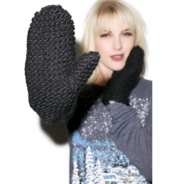 Cheap Monday Diagonal Mittens
