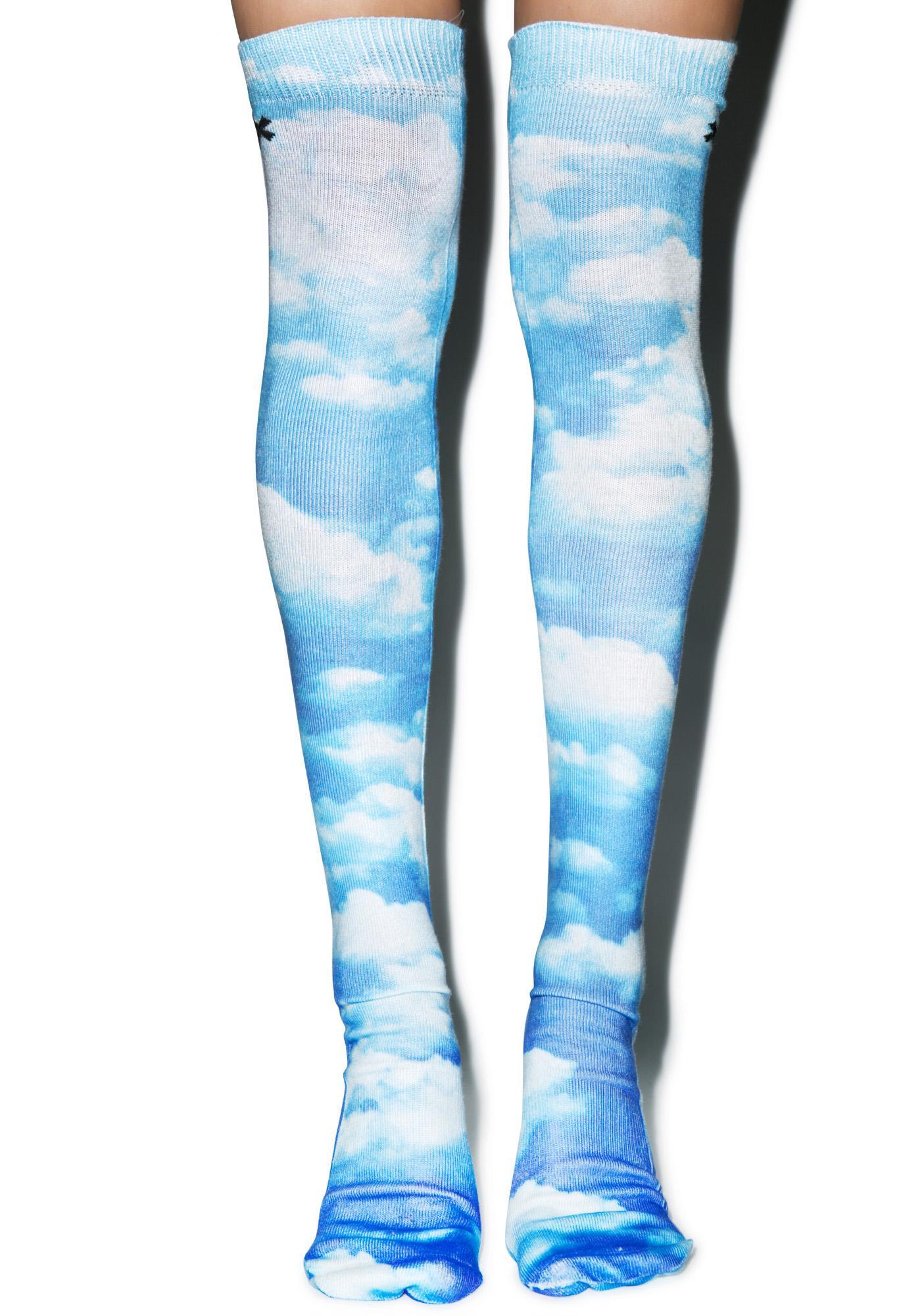 Odd Sox Sky High Knee High Socks