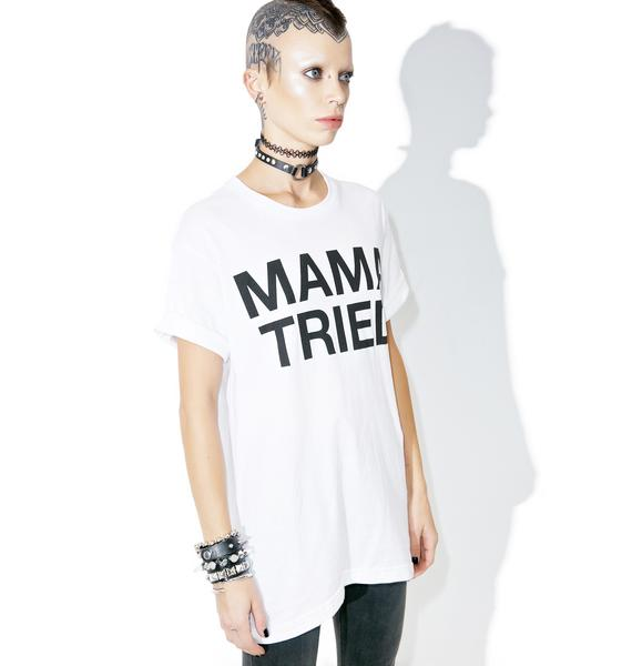 Burger And Friends Mama Tried Tee