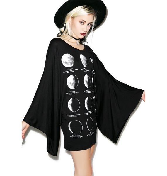 Killstar Lunar Kimono Top