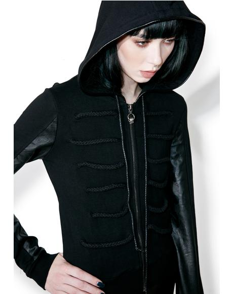 Black Parade Zip-Up Bomber