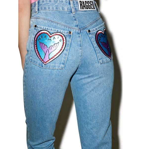 The Ragged Priest Tail End Mom Jeans