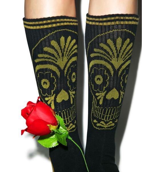 Rebel8 Muertos Socks