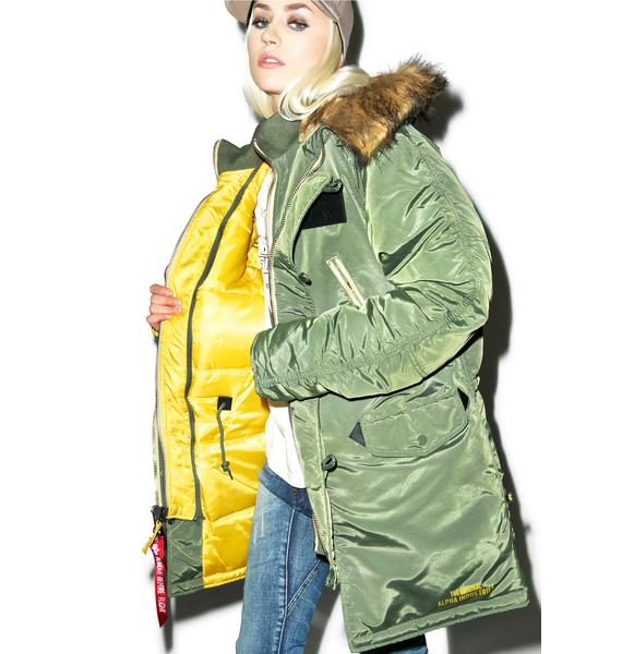 Alpha Industries N-3B Inclement Jacket