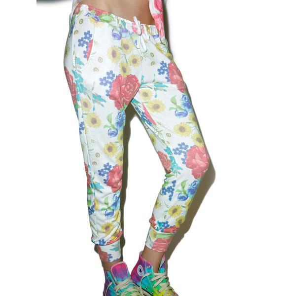 Wildfox Couture Summer Bouquet Canyon Pants