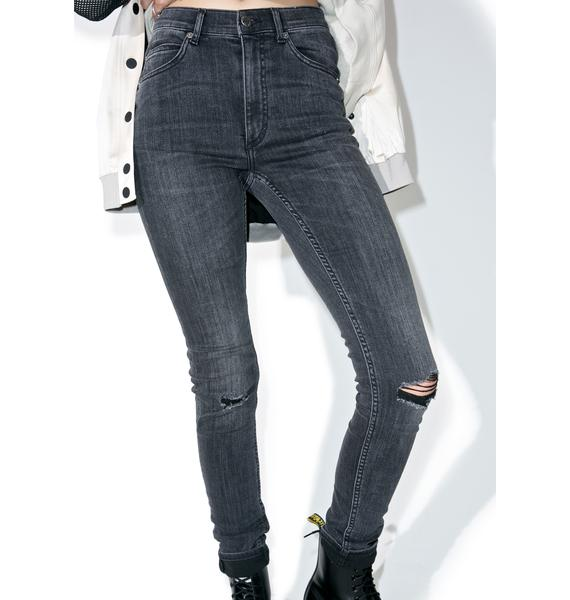 Cheap Monday Shadow Second Skin Jeans