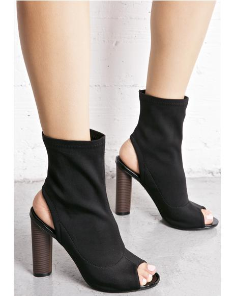 Axis Cut-Out Booties