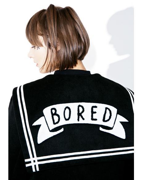 Mono Bored Varsity Jacket