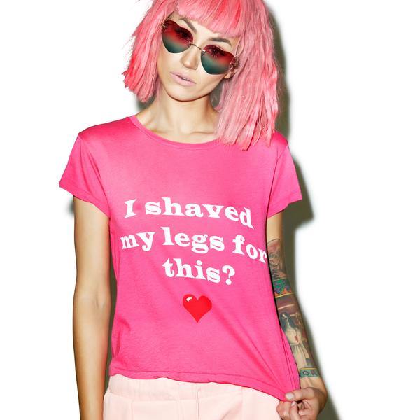 Wildfox Couture Bad Date Sleepover Tee