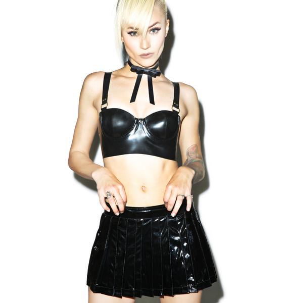 Maria PVC Mini Skirt