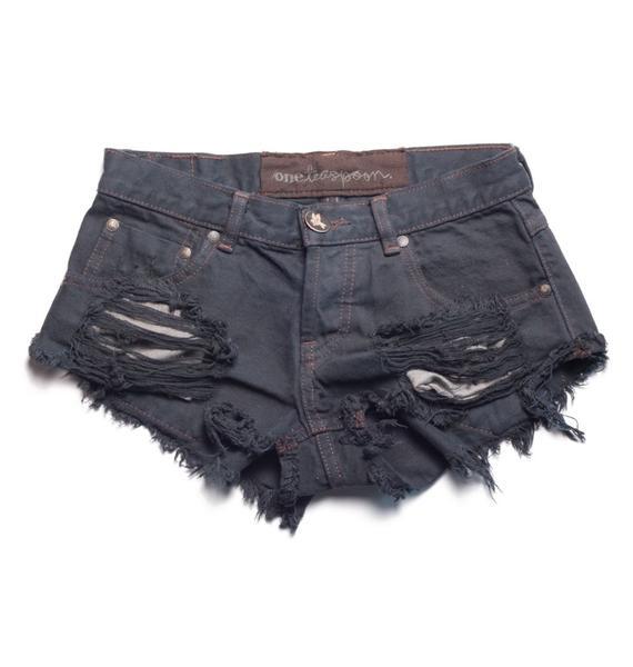 One Teaspoon Original Trashwhore Shorts
