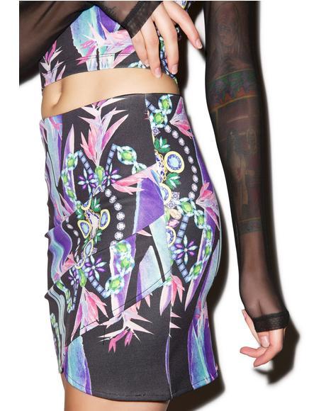 Born This Way Ponti Skirt