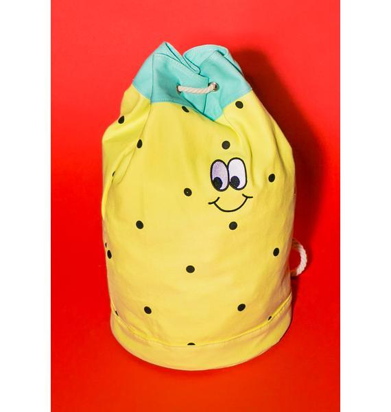 Lazy Oaf Pineapple Duffle Bag