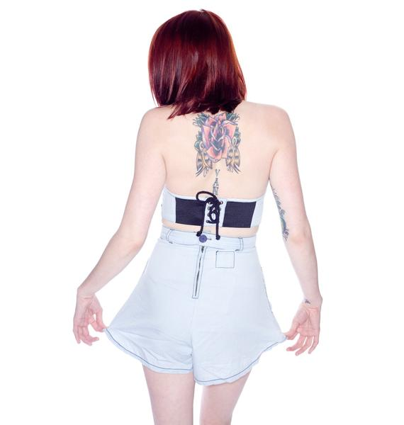 One Teaspoon Parisian Highwaisted Shorts