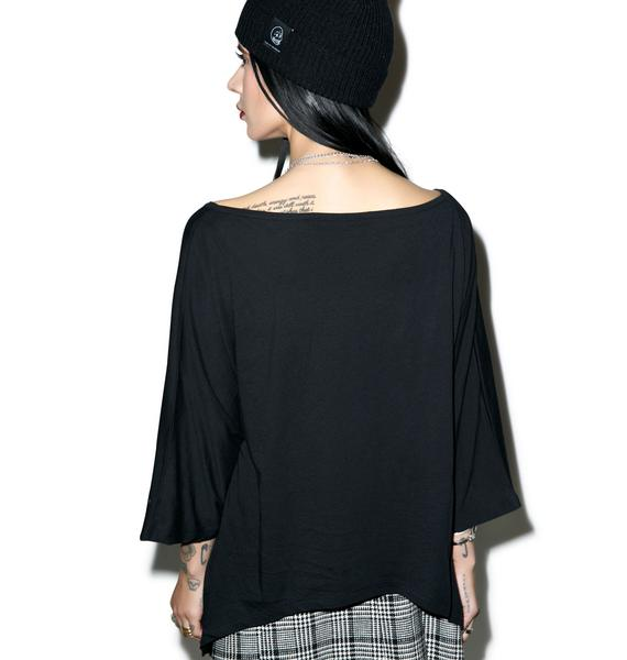 Killstar Pisces Drape Top