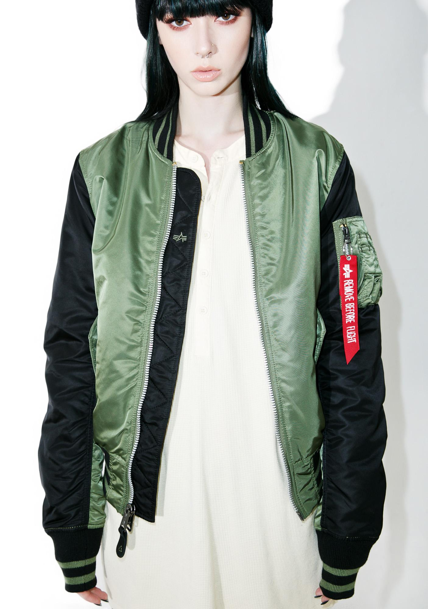 Alpha Industries MA-1 Varsity Flight Jacket