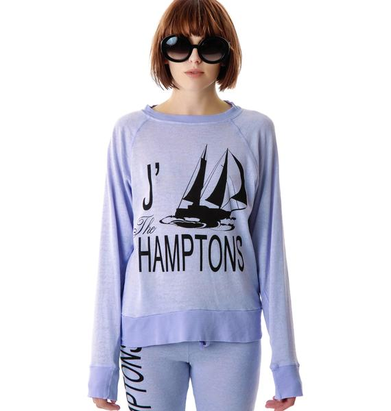 Wildfox Couture J'adore Hamptons Nantucket Jumper