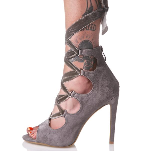 Shadow Aurora Wrap Heels