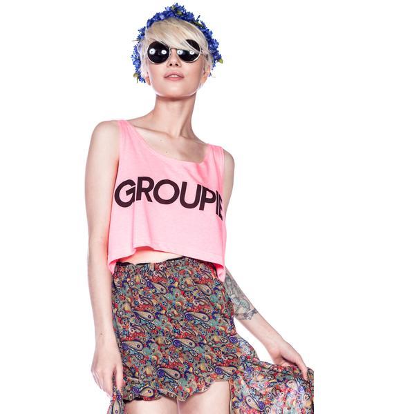 Jac Vanek Groupie Crop Top