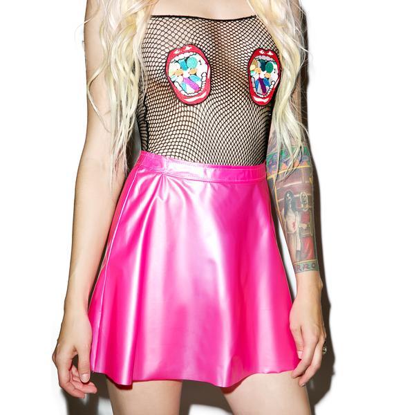 Tripp NYC Life In Plastic Plasmatic Skirt