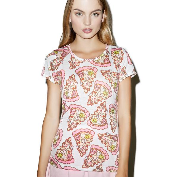 Tokidoki Pizza Party Tee