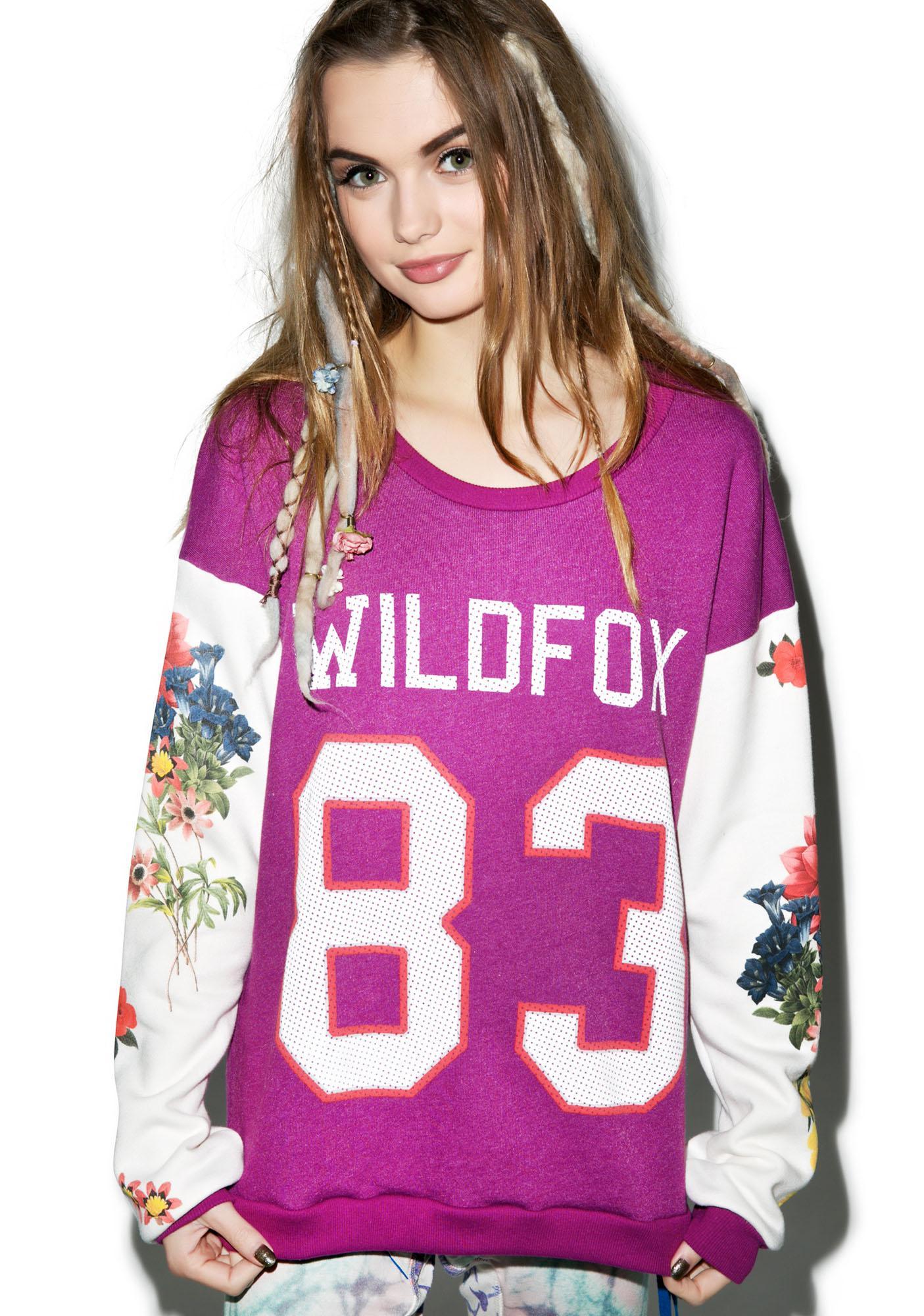 Wildfox Couture Wild 83 Campfire Sweatshirt