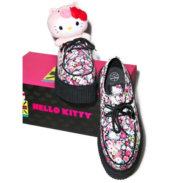 T.U.K. Daisy Kitty Mondo Creepers